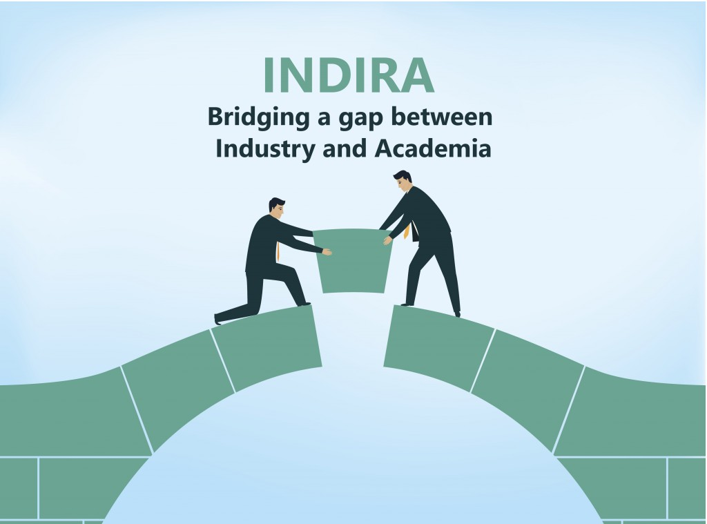 Indira: Bridging a gap between Industry and Academia