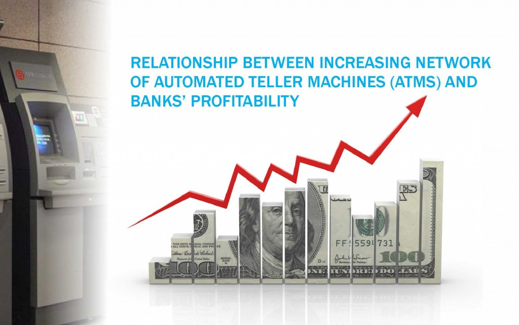 RELATIONSHIP BETWEEN INCREASING NETWORK OF AUTOMATED TELLER MACHINES (ATMs) AND BANKS' PROFITABILITY