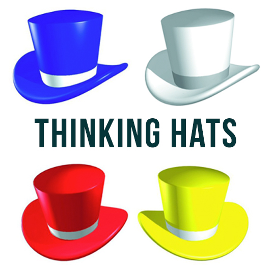 Six Thinking Hats …..
