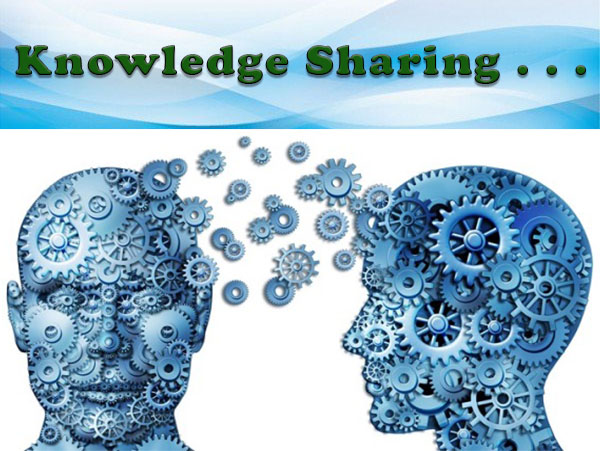 Knowledge Sharing ....