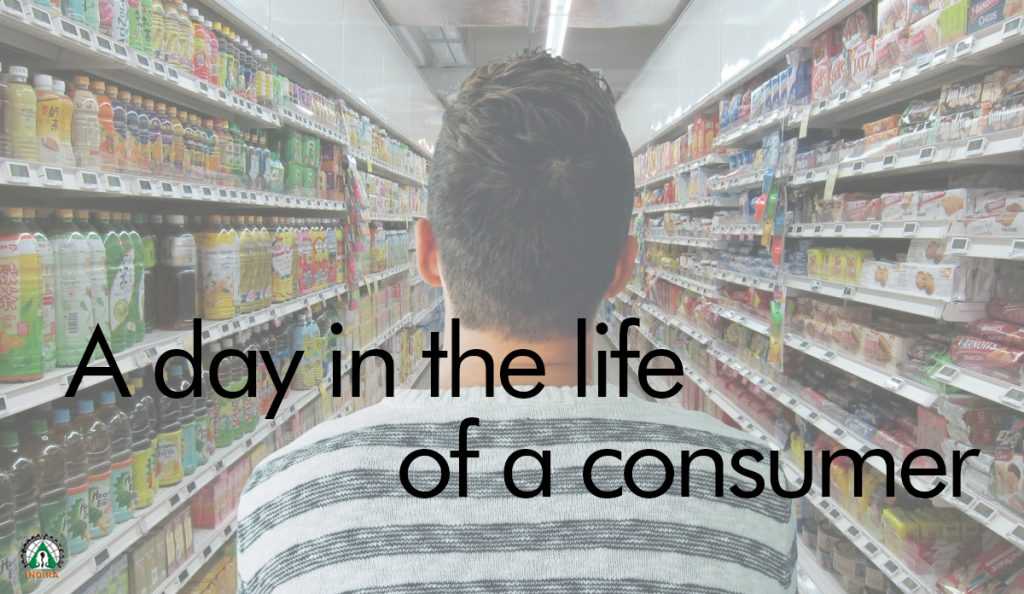 A day in the life of a consumer